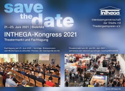 INTHEGA-Kongress 2021 - save the date 2